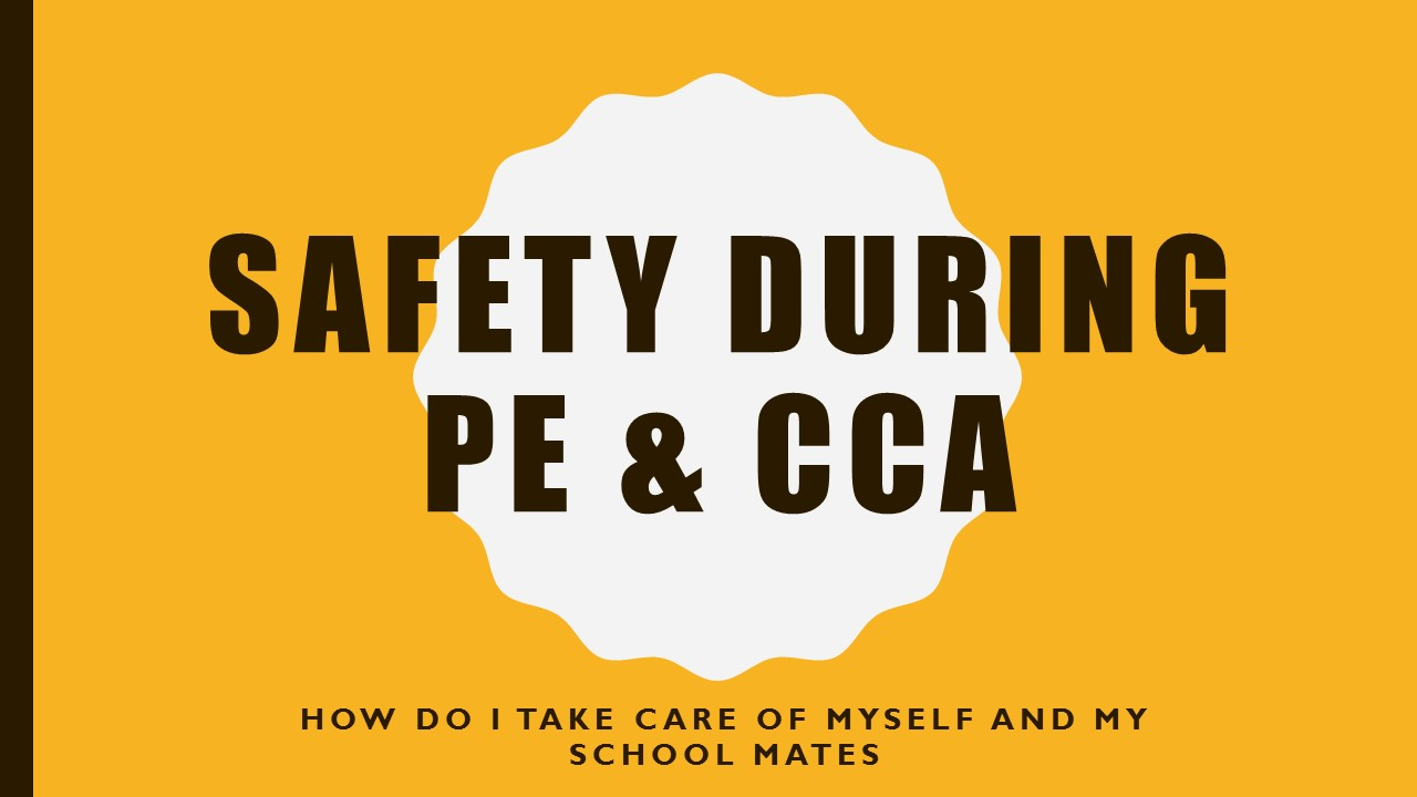 Safety in PE & CCA